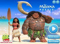 Puzzle cu Moana