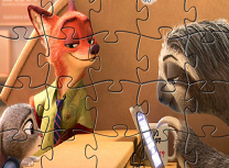 Puzzle cu Nick si Judy