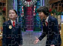 Puzzle cu Olive si Otto