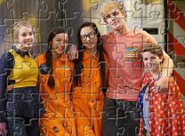 Puzzle cu Personajele Bizaardvark