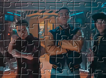 Puzzle cu Personajele Mech-X4
