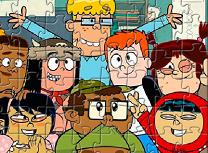 Puzzle cu Personajele din Fangbone