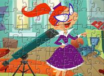 Puzzle cu Personajele din Miss Moon
