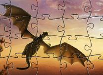 Puzzle cu Pete si Dragonul