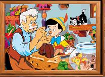Puzzle cu Pinocchio