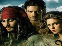 Puzzle cu Piratii din Caraibe