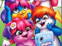 Puzzle cu Popples