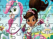 Puzzle cu Printesa Nella
