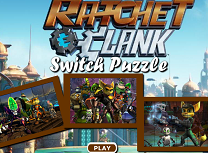 Puzzle cu Ratchet si Clank