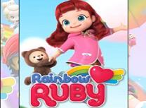 Puzzle cu Ruby Curcubeu