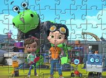 Puzzle cu Rusty si Prietenii