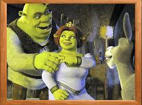 Puzzle cu Shrek