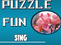 Puzzle cu Sing