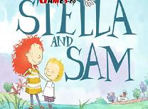 Puzzle cu Stella si Sam