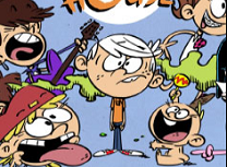 Puzzle cu The Loud House