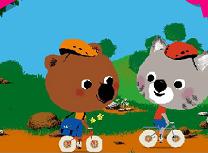 Puzzle cu Ursuletul Mouk