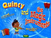 Quincy si Instrumentele Magice