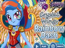 Rainbow Dash Aripi de Cristal