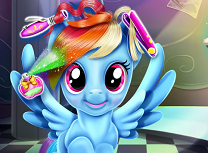 Rainbow Dash Coafuri