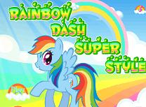 Rainbow Dash de Imbracat