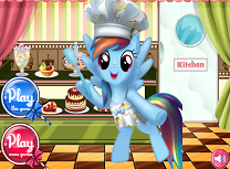 Rainbow Dash la Cofetarie