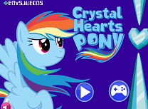 Rainbow Dash si Cristalele
