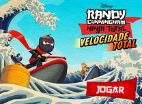Randy Cunningham Cursa cu Skijet