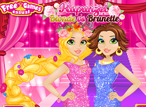 Rapunzel Blonda Vs Bruneta