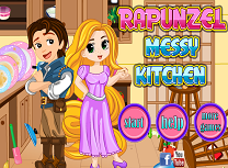 Rapunzel Curata Bucataria