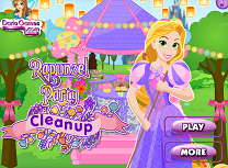 Rapunzel Curatenie Dupa Petrecere