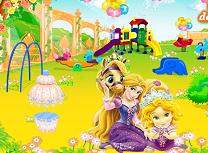 Rapunzel Decoreaza Gradina