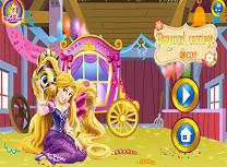 Rapunzel Decoreaza Trasura