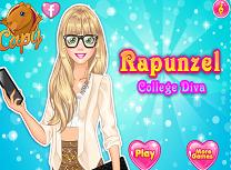 Rapunzel Diva la Colegiu