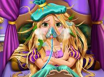 Rapunzel Este Bolnava
