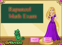 Rapunzel Examen la Matematica