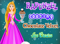 Rapunzel Face Inghetata de Ciocolata