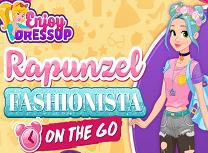 Rapunzel Fashionista pe Fuga