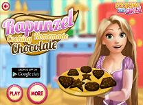 Rapunzel Gateste Ciocolata
