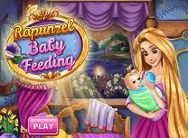 Rapunzel Hraneste Bebelusul