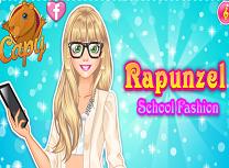 Rapunzel Moda de la Scoala