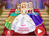 Rapunzel Nunta cu Printese