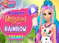 Rapunzel Printesa Moderna