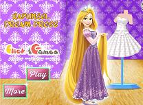 Rapunzel Rochie de Vis