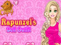 Rapunzel Tinuta de Papusa