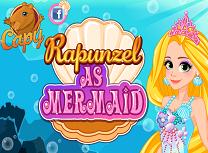 Rapunzel ca Sirena