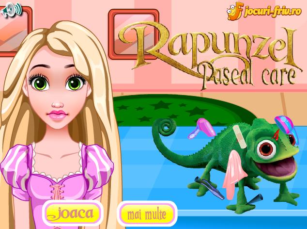 Rapunzel il Ingrijeste pe Pascal