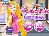 Rapunzel in Pas cu Moda