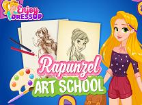 Rapunzel la Scoala de Arte