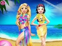 Rapunzel si Alba ca Zapada Vacanta de Vara