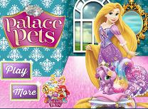 Rapunzel si Animalele de la Palat